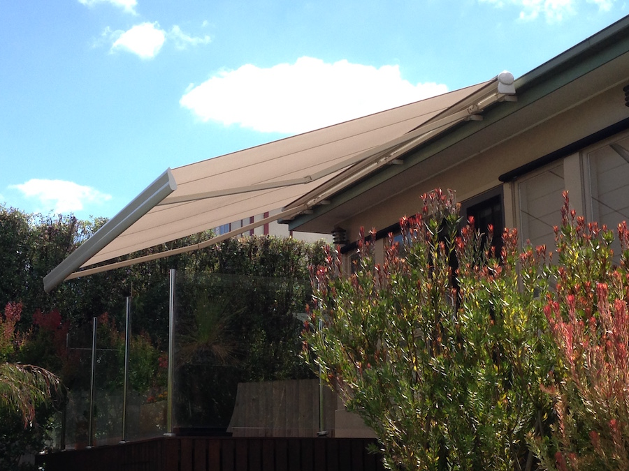 Semi Cassette Folding Arm Awnings