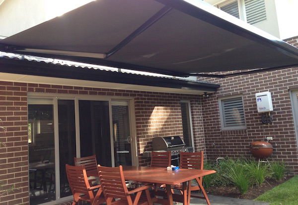 Full Cassette Folding Arm Awnings Outdoor Shade Systems